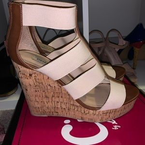 Steven Madden Cork Wedge